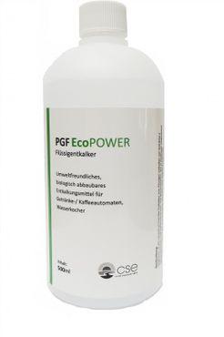 PGF Eco Power - flüssiger Bio-Entkalker für Getränke-und Kaffeeautomaten 500ml