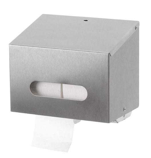 Ophardt Robust Double Toilet Roll Dispenser Stainless