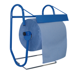 Metzger cleaning roll holder for rolls up to 40 cm width, incl. waste bag holder