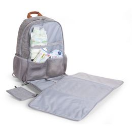 Childwood Felt special nursery back bag grey – Bild 3
