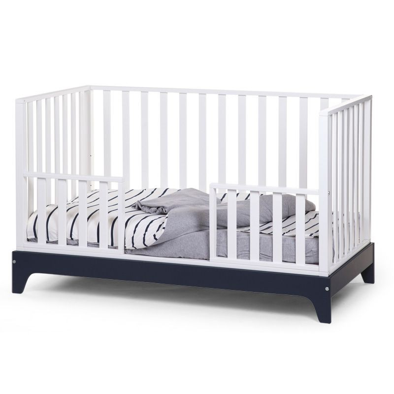 childwood umwandelbares gitterbett ref 17 weiss baby kind kinderm bel co. Black Bedroom Furniture Sets. Home Design Ideas