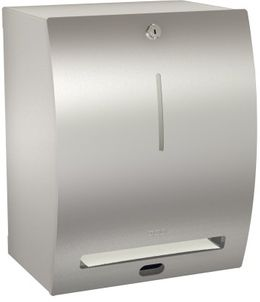 Franke paper towel dispenser Stratos STRX 630 made of stainless steel for wall mounting – Bild 1