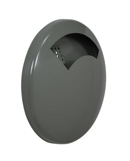 Rossignol disco wall mounted ashtray 0,5L made of anti-UV powder coated steel – Bild 6