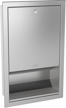 Franke papertowel dispenser RODX600E for flush mounting made of stainless steel – Bild 1