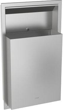 Franke waste bin RODX605E 23l made of stainless steel for flush mounting – Bild 1