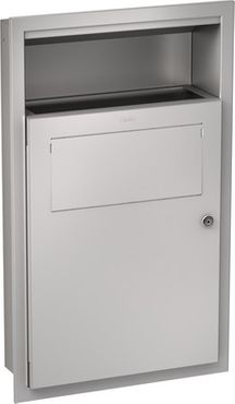 Franke hygienic waste bin RODX612E made of stainless steel for flush mounting – Bild 1