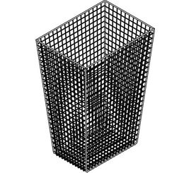 Franke 31 liter waste bin CHRX608 for wall mounting made of stainless steel – Bild 2