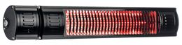 Infralogic infrared heater in aluminum or black for wall mounting 2000W – Bild 2