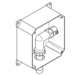Franke Rohrbauset AQRM558 aus Kunststoff für die WC-Spülung – Bild 2