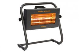 Infralogic transportable infrared heater Helios Fire with IPX 5 and 1500w
