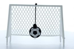 SET urinal-sieve and soccer goal suiatble for all soccer fans – Bild 2