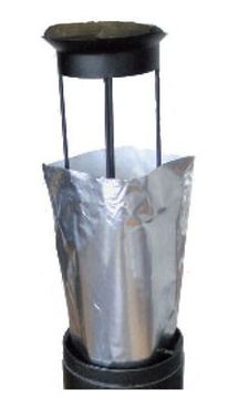 Aluminum bags for outdoor ashtray - Smokers side
