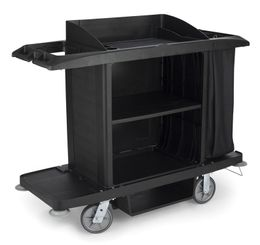 Housekeeping cart large, Rubbermaid – Bild 1