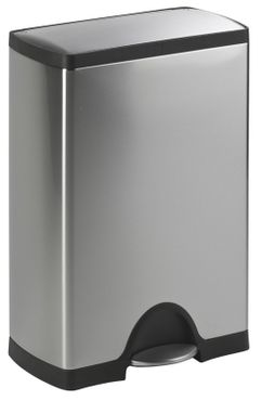 Simplehuman Pedal Bin Rectangular 50 L made of aluminium