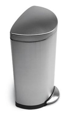 Simplehuman Halbrunder Trittmülleimer 30 Liter