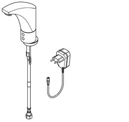 Franke washbasin tap DN 15 with aerator and adjustable flow time regulator   – Bild 2