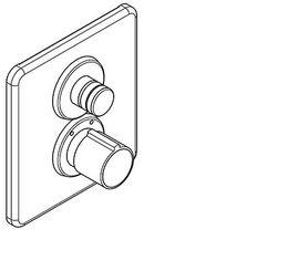 Franke Hydraulische Dusche aus Chromnichelstahl zur Wandmontage AQLT0094/AQLT0093 – Bild 3