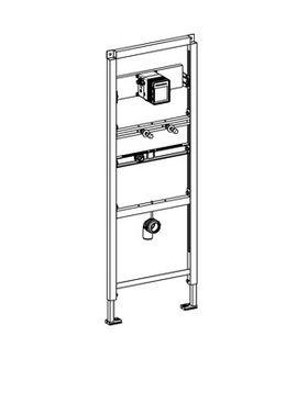 Franke Installationselement aus Stahl für Urinalbecken aus Edelstahl DN 15  – Bild 3