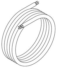 Franke system cable A3000open for connecting fittings or system electronic modules – Bild 2