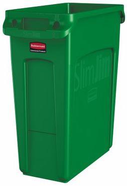 RUBBERMAID Slim Jim® Abfallbehälter aus Kunststoff mit Lüftungskanälen 60L – Bild 5