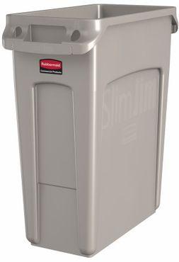 RUBBERMAID Slim Jim® Abfallbehälter aus Kunststoff mit Lüftungskanälen 60L – Bild 3