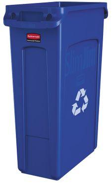 RUBBERMAID Slim Jim® Abfallbehälter mit Lüftungskanälen 87 Liter – Bild 3