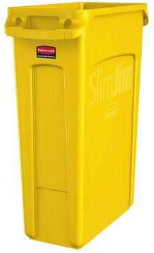 RUBBERMAID Slim Jim® Abfallbehälter mit Lüftungskanälen 87 Liter – Bild 4