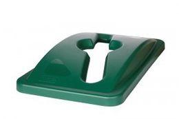RUBBERMAID Deckel für gemischte Recyclingabfälle (passend für Slim Jim FG3540, FG3541) – Bild 2
