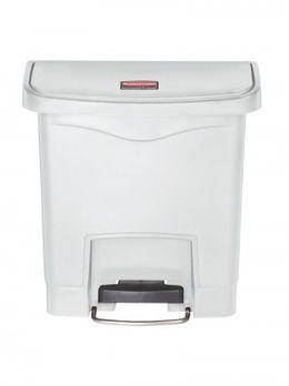 RUBBERMAID Slim Jim® Kunststoff-Tretabfallbehälter mit Pedal an der Breitseite 15 L – Bild 6