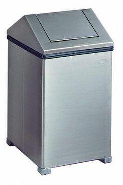 RUBBERMAID waste bin WasteMaster made of stainless steel 60 liter – Bild 1