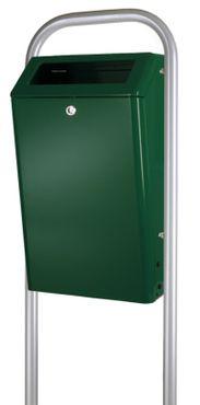 Aluminium Outdoor waste bin 50 litres – Bild 3