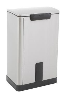 Rechteckiger Tritt-Mülleimer E-Cube 40 Liter, EKO – Bild 3