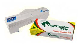 SET efficient Wrapmaster dispenser WM4500 and cling film LMF 4500
