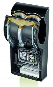 Dyson Airblade™ AB14 black limited edition made of ABS polycarbonat 1600W – Bild 3