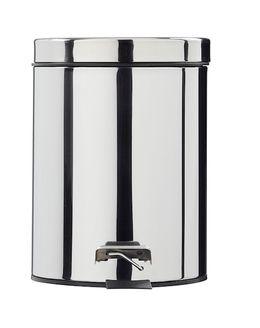 Rossignol Essencia pedal bin 5L in stainless steel or white powder coated steel – Bild 5