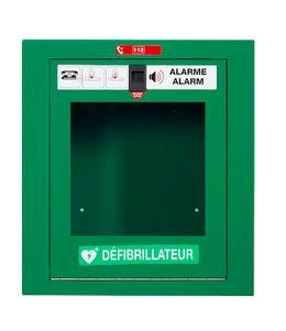 Rossignol Clinix Defibrillatorbox aus pulverbeschichtetem Stahl mit frontaler Öffnung – Bild 2