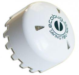 SET - EcoBug® Kunststoff Urinalmatte weiß inkl. Extra strong EcoBug Urinal cap – Bild 3
