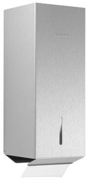 Wagner-EWAR Toilettenpapier-Einzelblattspender WP169  Edelstahl für Aufputzmontage – Bild 1