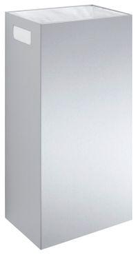 Wagner-EWAR Abfallbehälter 34l WP152 Edelstahl für Aufputzmontage – Bild 1