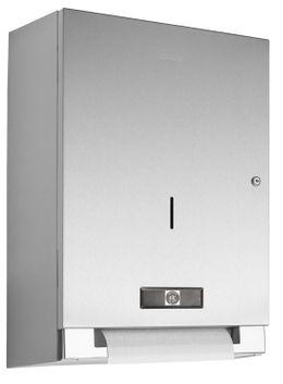 Wagner-EWAR Elektrischer Papierrollenspender Batteriebetrieb WP1401 Edelstahl für Aufputzmontage – Bild 1
