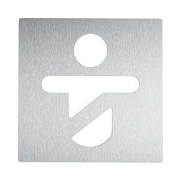 Wagner-EWAR Piktogramm Kind AC420  Edelstahl matt geschliffen – Bild 1