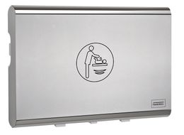 Mediclinics changing station CP0016HCS horizontal plastic stainless steel exterior – Bild 1