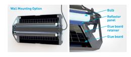 Genus Delta® 2 x 15 Watt hängende Insekten Lichtfalle mithilfe von Klebefolien  – Bild 5