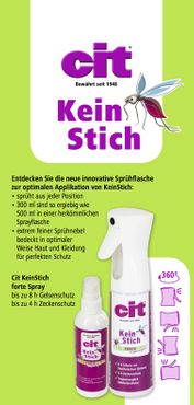 Cit KeinStich forte protective spray 300ml (Insects) tropicalised – Bild 2