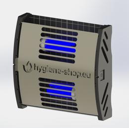 FliBlade 26 Insektenvernichter aus Edelstahl mit 2 x 13 Watt Eco Lampen – Bild 1