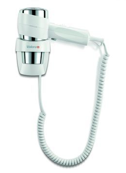 Valera Action Super Plus 1600 Watt in white/chrome hair dryer with spiral cable
