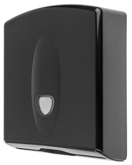 PlastiQline 2020 paper towel dispenser made of plastic with lock for wall mounting