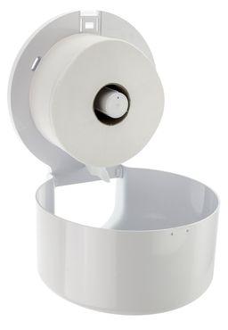 PlastiQline 2020 jumbo roll dispenser made of plastic with lock for wall mounting – Bild 2
