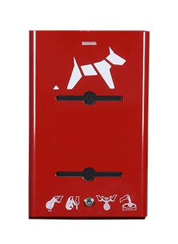 Rossignol Hygeca wall mounted dog waste bag dispenser available in 5 colours – Bild 2