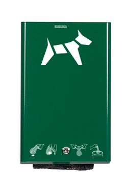 Rossignol Hygeca wall mounted dog waste bag dispenser available in 5 colours – Bild 1